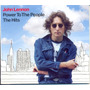 Cd John Lennon - Power To The People - The Hits