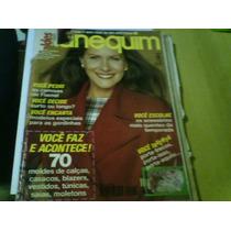 Revista Manequim Nº415 Jul 94 Capa Recortada Com Caderno Mol