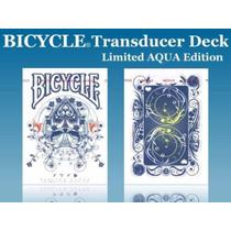 Baralho Bicycle Aqua Deck Transducer - Pôquer Poker Mágica