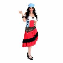 Fantasia Cigana Adulto Sulamericana Tam. M ( 40 A 42)