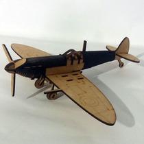 Quebra Cabeça 3d - Coleção Aviões - Avião Monomotor