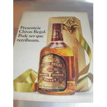 ( L - 290 ) Propaganda Antiga Whisky Chivas Regal