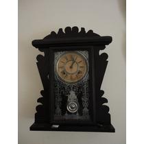 Relógio Antigo De Parede Ansonia Usa Original E Perfeito