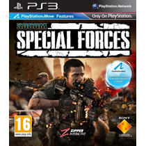 Game Ps3 Socom Special Forces