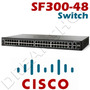 Switch Cisco 48 Pt 100 + 4 Pt Giga 1000 Srw248g4-k9 Sf300-48