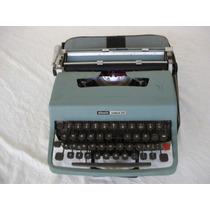 Maquina Portatil De Escrever Olivetti Lettera 32