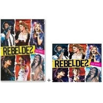 Dvd + Cd Rebeldes -ao Vivo Record -original Lacrado Novo