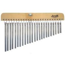 Carrilhao Torelli Com 24 Notas Barras Aluminio Natural S Loj