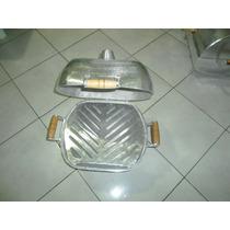 Vendo Churrasqueira Em Aluminio Fundido Tipo Bafo Pequena