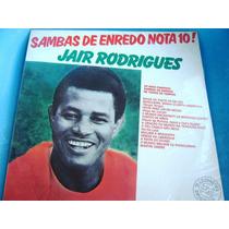 Lp Zerado Jair Rodrigues Sambas De Enredo Nota Dez 7