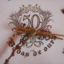 Relógio Bodas De Ouro - Pague C/ Cartão