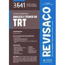 Revisaço - Analista E Técnico Do Trt (2015) -tomo I - 3.641