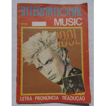 Internacional Music Nº 2: Billy Idol - Letras Cifradas 1987