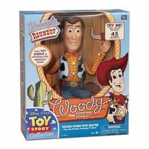 Brinquedo Toy Story Boneco Woody 40cm Xerife Autentico Filme