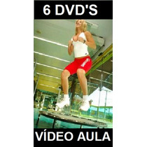 Kit !!! Fitness Aero Jump 6 Dvds!!! Pague Pelo Mercado Pago