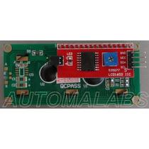 Display Lcd Serial I2c + Teclado - Arduino, Mcu, Pic