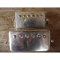 Par De Captadores Humbucker Gibson T Top Gold Faded 60