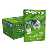 Papel Sulf. A4 Chamex Caixa Com 10 Resmas De 500 Fls.