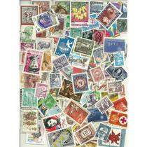 Lindo Lote 10 Selos De Vários Países - Frete Grátis