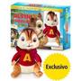 Blu-ray- Coleção Alvin E Os Esquilos 1-2 E 3 + Brinde - Novo