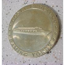 Antiga Ficha Em Bronze De Jogo Gaming Token - Costa Crociere