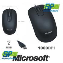 Mouse Optico Microsoft 200 Usb 1000dpi Formato Ambidestro
