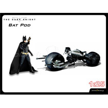 Miniatura Moto Batman Dark Knight Bat Pod 1/24 Tumbler