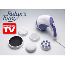 Massageador Relax E Spin Tone Tv, Drenagem, Barriga Orbital