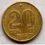 Moeda Antiga De 20 Centavos 1946