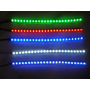 Barra De Led Silicone 24cm Ou Strip 24 Led Prova De Agua 12v