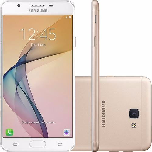Celular Samsung Galaxy J7 Prime Dourado Tela 5.5 ´ ´ 32gb
