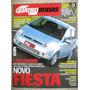 Quatro Rodas Mai 2002 Fiesta Strada Lancer Evolution Peugeot