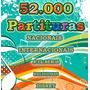 52 Mil Partituras Em Pdf, Nacionais, Filmes, Religiosas, Etc