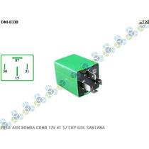 Rele Auxiliar Bomba Combustivel 12v 4t S/ Sup Gol Santana