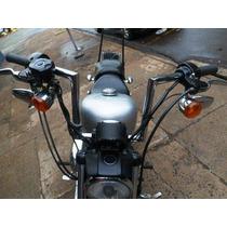 Guidon Alto Seca Sovaco Harley Davidson 883 Cromado Ou Preto