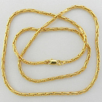 Corrente Masculina 70cm Folheada Ouro - Cr444