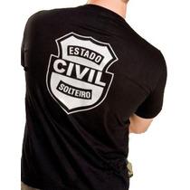 Camiseta ,estado Civil Solteiro,estilo , Policia