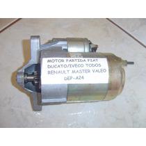 Motor Partida Fiat Ducato Iveco Todos Renault Master Valeo