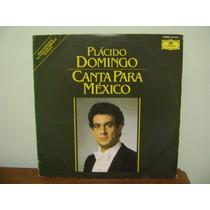 Disco Vinil Lp Simon Plácido Domingo Canta Para México