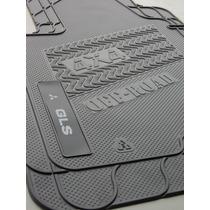 Tapete Em Borracha Pvc - Mitsubishi L200 Gls / Hpe Quadrada