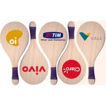 Raquetes Frescobol Personalizadas Para Brindes E Promoções