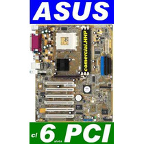 Placa Asus A7v600-x C/ 6 Pci, Sata, Rede E Som On-board
