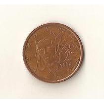 2579 - França 5 Cents, Euro 2004