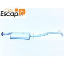 Silencioso Traseiro Escapamento S10 2.5 Diesel Cabine Simple