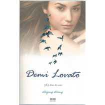 Demi Lovato 365 Dias Do Ano. Livro De Staying Strong.