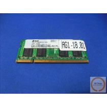 Memória Sodimm Ddr2 533/667mhz 512mb P/ Notebook Só R$ 9,99