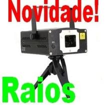 Projetor Holográfico Laser Com Raios Dj Exclusivo!!!