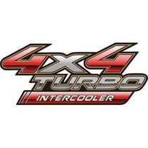 Adesivo Hilux 4x4 Turbo Intercooler