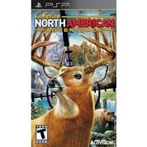 Jogo Cabela`s North American Adventures Para Psp Lacrado