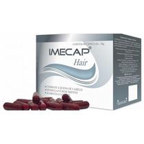 Imecap Hair 60 Cápsulas Estimula O Crescimento Capilar